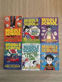 Middle School Book Series 6 Books