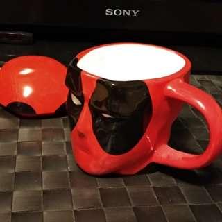 漫威死侍造型馬克杯 MARVEL DEADPOOL Mug Cup (正品)
