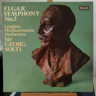 Elgar Symphony 2 Solti DECCA SXL 6723