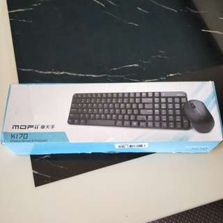MOFI Wireless keyboard and mouse