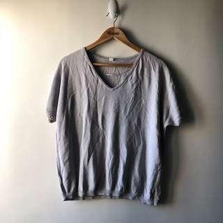 Uniqlo Top — Gray