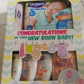 Drypers Wee Wee New Born Gift Set