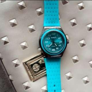 Jam tangan swatch tosca