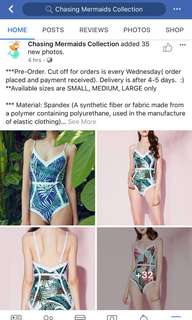 Brand New Swimsuits
