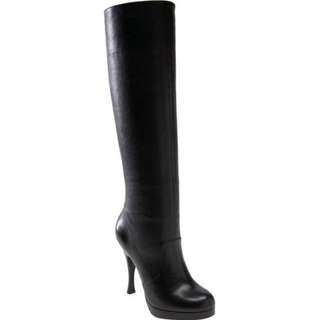 95%NEW BCBG Real Leather Black High Heel Boots 真皮黑色高跟長靴 #welcomewinter