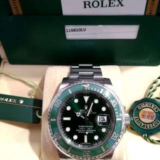 Rolex 116610lv