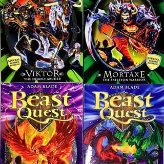 Beast Quest (4 books)