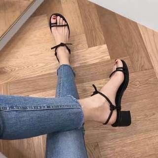 (A94) 爆款🔥【正韓-時尚綁帶式涼鞋】