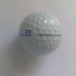 New golf balls Titleist Pro V1x