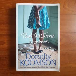 That Girl From Nowhere - Dorothy Koomson