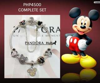 Inspired Pandora Mickey Bracelet