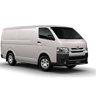 Van Rental Toyota Hiace Van For Rent | FCY Enterprise