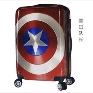 School holiday Promotion!! 20 inch luggage - hand carry - captain america