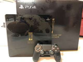 WTS- PS4 Slim 1TB FFXV Luna Edition with game