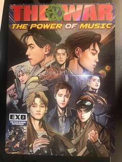EXO 4輯Repackage The Power of Music