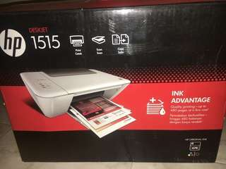 printer hp deskjet ink advantage 1515 print scan copy