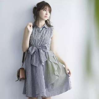 100% Authentic Japanese Brand Tocco Crystals Checkers Ribbon Collar Dress   Imported from Japan    Brand new with tag   Stylish Trendy Nice Gorgeous   Latest Japanese & korean Style   Best Woman Fashion   Singapore  No.1 blogshop