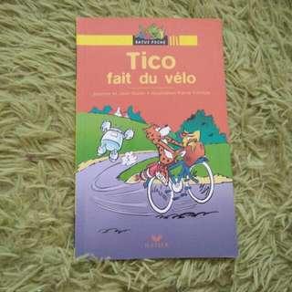 French Book - Tico Fait Du Velo