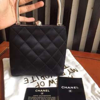 CHANEL AUTHENTIC PARTY CLUTCH