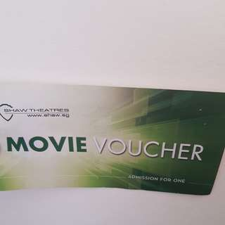 Shaw Movie Tickets