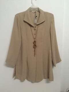 Formal blouse-blouse semi blazer