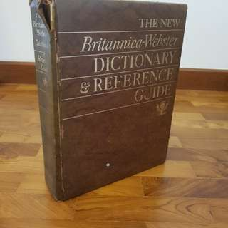 The New Britannica-Webster Dictionary & Reference Guide