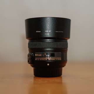 Nikon 50mm F/1.8G for sale!