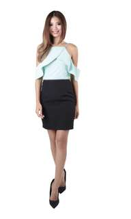 #Huat50Sale New from MGP - Cristabel Shoulder Dress in Mint