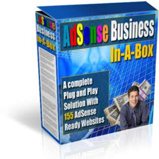 Adsense Business In-A-Box: A Complete Plug and Play Solution With 155 AdSense Ready Websites (And Thousands Of Articles!)
