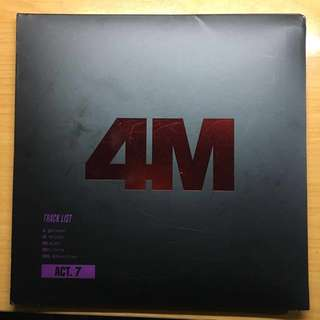 4Minute- ACT.7 mini album