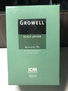 Hair Growth Recommended by Nat Skin Ctr - Growell Scalp Lotion 80ml