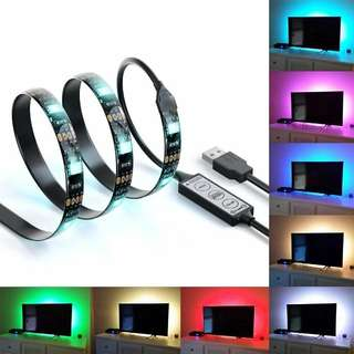 Kohree USB Powered TV Backlighting Home Theater Accent Lighting (90Cm)