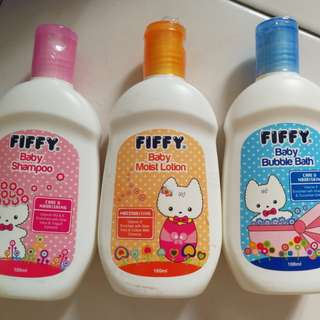 Fiffy Baby Bath Set