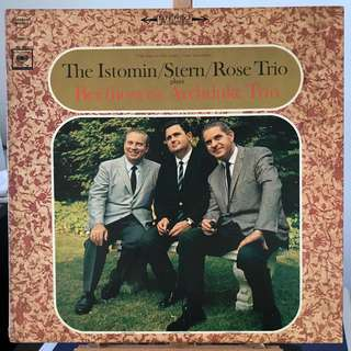 Beethoven Archduke Trio Istomin/Stern/Rose Columbia MS 6819