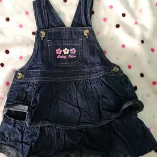 Baby Kiko Denim dress