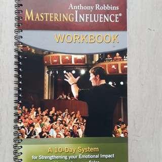 "Anthony ""Tony"" Robbins - Mastering influence series"
