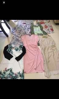Huge bundle dress clearance- all good brands size UK12 M to L size