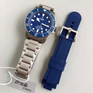 仁譽面交 Tudor   Pelagos  鈦殼  25600TB 藍色  ZF廠V4版 同款最頂級貨
