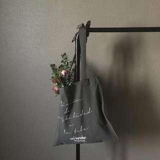 Depound Ribbon Linen Bag 亞麻 帆布包