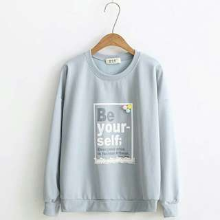 BE YOUR SELF SWEATER
