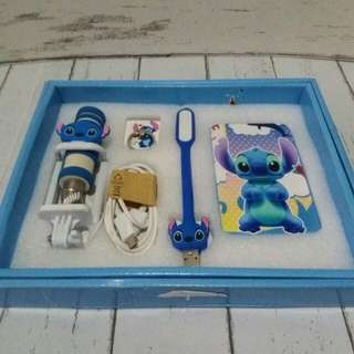 Stitch Powerbank Set