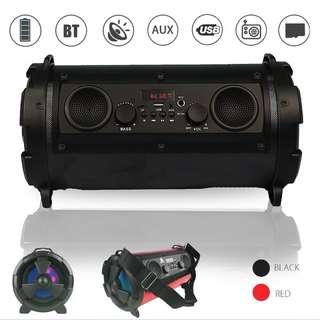 Bluetooth Wireless Bazooka Speaker Super Bass Subwoofer USB TF Card Loudspeaker Durable