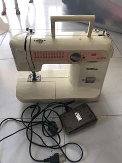 Brother Sewing Machine XL-5070 Working but rusty on needle plate