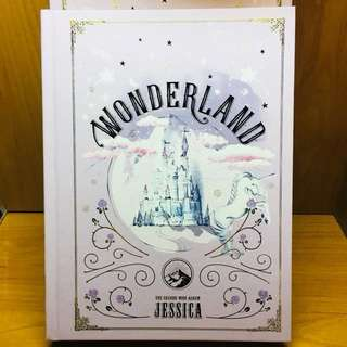JESSICA-Wonderland. The second mini album