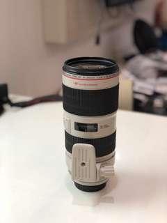 Lensa Canon EF 70-200mm f2,8 IS II USM