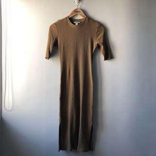 H&M Dress — Brown
