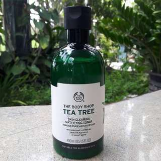 The BodyShop tea tree toner