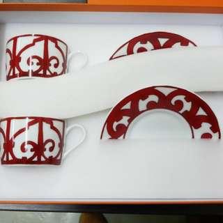 Hermes cup set