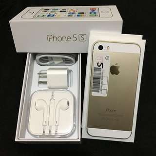iPhone 5s 16GB - Factory Unlocked (GOLD/SILVER)