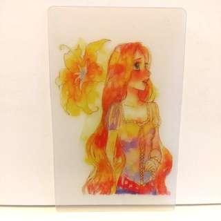 長髮公主 Rapunzel分裝卡